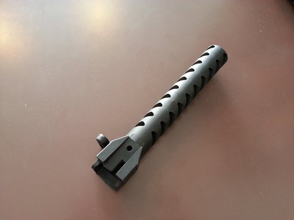 Telescopic Style Stock Adapter for AK74 (BK)