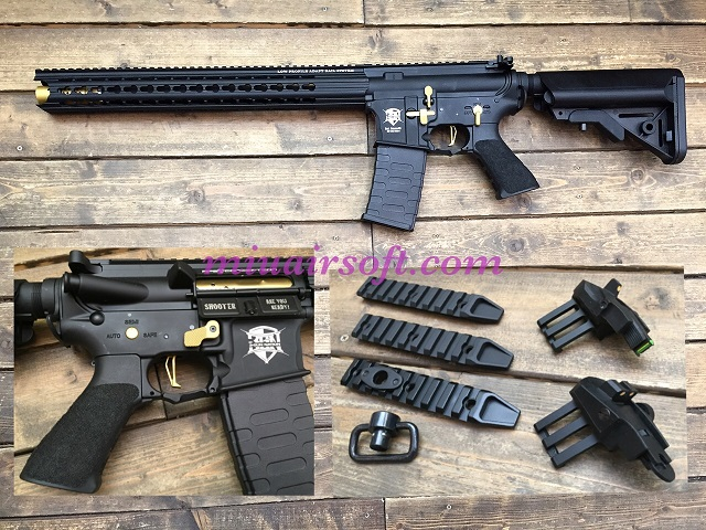 APS BOAR Defense Ambi 3Gun AEG BK