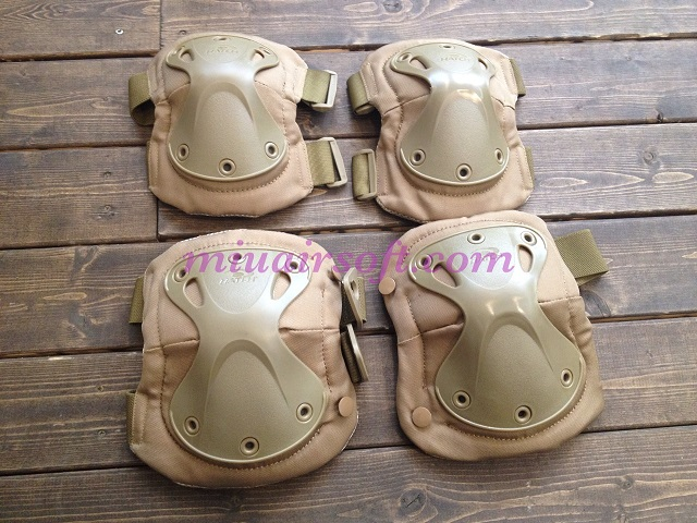 Emerson XTAKタイプ Knee & Elbow Pads (Tan)