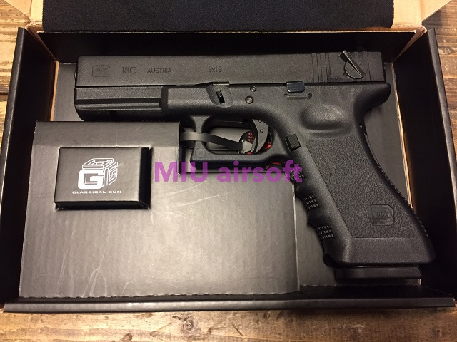 SAA G18C LimitedEdition GBB BK
