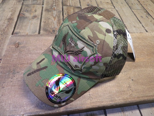 VanceFly Activity エアメッシュキャップ PlotCamouflage MC