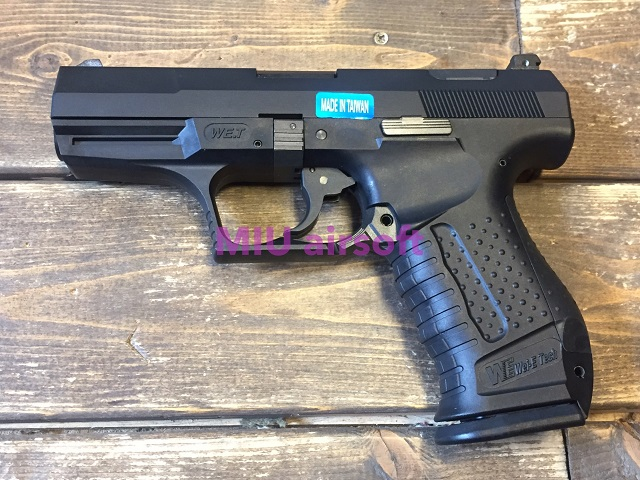 WE Walther P99 ガスブローバック BK